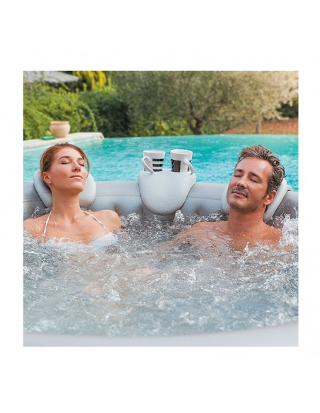 Appuie-têtes & support gobelet pour spa gonflable